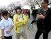여의도 벚꽃축제 인터뷰
