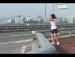 서울한강다리위에서 댄스작렬너구리걸