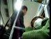 """지하철에서 이마에 """"강남역""""쓰고 그냥 잤어."""
